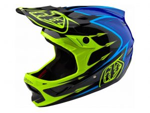 CASCO DE DESCENSO D3 COMPOSITE DESCENSO MARCA TROY LEE DESIGNS.