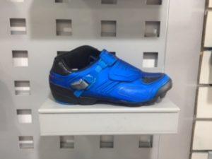 zapatilla shimano azul.